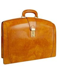 Pratesi - Brunelleschi Italian Leather Briefcase - Lyst