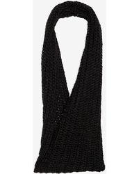 Genie by Eugenia Kim - Metallic Cable Knit Infinity Scarf - Lyst