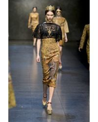 Dolce & Gabbana Fall 2013 Runway Look 11 - Lyst