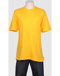 American Apparel - Short Sleeve T-shirt - Lyst