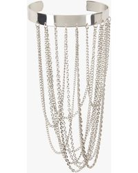Bebe - Multi Chain Arm Cuff - Lyst