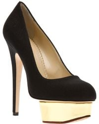 Charlotte Olympia 'Dolly' Pumps black - Lyst