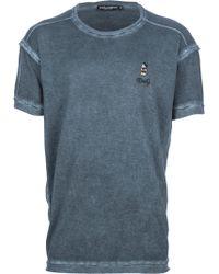 Dolce & Gabbana Mickey Mouse T-Shirt - Lyst