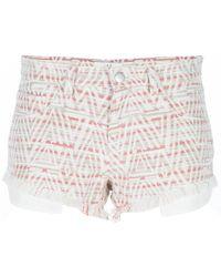 IRO Inca Print Shorts - Lyst