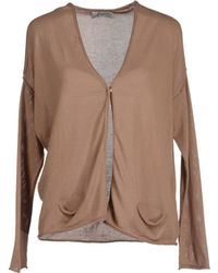 Capucine Paris Cardigans brown - Lyst