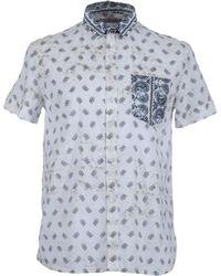 Balmain Short Sleeve Shirts - Lyst