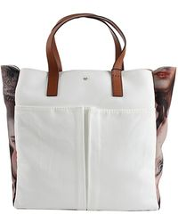 Anya Hindmarch Nevis Print Canvas Tote - Lyst