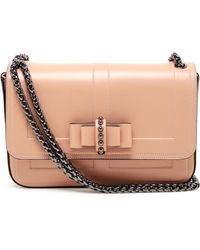 Christian Louboutin Sweet Charity Leather Handbag - Lyst