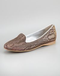 Dee Keller - Reeree Damask Hologram Smoking Slipper - Lyst