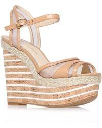 Enzo Angiolini - Zosima Platform Summer Wedge Sandals - Lyst