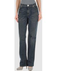 Krizia Jeans - Denim Trousers - Lyst