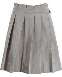 Lida Baday - Buckle Waist Full Pleated Skirt - Lyst