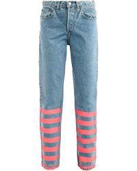 Lulu & Co | Vintage Mid Rise Straight Leg Jeans | Lyst