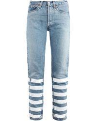 Lulu & Co Vintage Levis 501 Mid-Rise Straight-Leg Jeans - Lyst