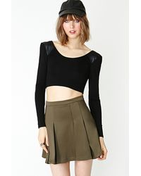 Nasty Gal Hard Knock Crop Top - Lyst