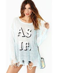 Nasty Gal As If Knit - Lyst