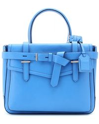 Reed Krakoff Boxer Leather Tote blue - Lyst