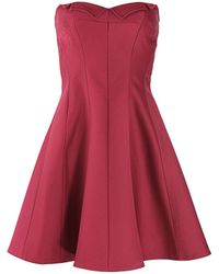 Z spoke zac posen red dress dash