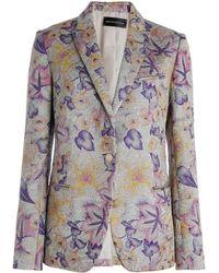 Zadig & Voltaire Virginie Jacket Deluxe purple - Lyst