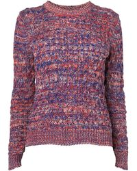 Boutique by Jaeger - Honeycomb Mouline Jumper - Lyst