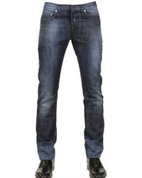 Dior Homme 19Cm Prince Of Wales Denim Jeans - Lyst