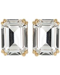 House of Lavande - Swarovski Crystal Stud Earrings - Lyst