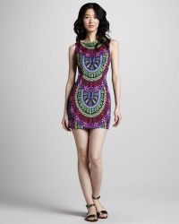 Mara Hoffman Printed Open-Back Minidress - Lyst