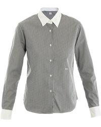 E. Tautz Contrast Shirt - Lyst