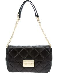 Michael Kors Quilted Chain Shoulder Bag - Lyst