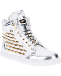 Philipp Plein Studded Trainer - Lyst