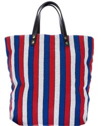 Steve Mono - Striped Tote Bag - Lyst