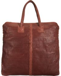 Jas MB - Basket Perforated Shopper Tote - Lyst