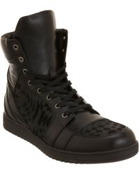 Gareth Pugh Lasercut Ponyhair High Top - Lyst