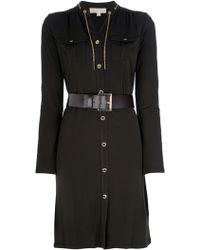 MICHAEL Michael Kors Shirt Dress - Lyst