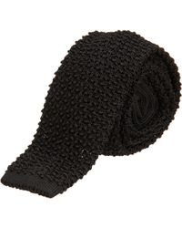 Ralph Lauren Black Label - Knit Tie - Lyst