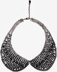 DANNIJO Peter Pan Collar Necklace - Lyst