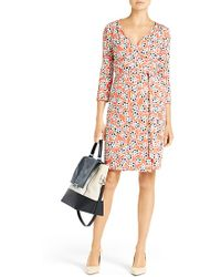 Diane von Furstenberg New Julian Two Silk Jersey Wrap Dress - Lyst