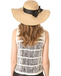 Jonathan Adler - Overstitched Straw Sun Hat - Lyst