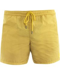 Moncler - Nylon Swim Shorts - Lyst