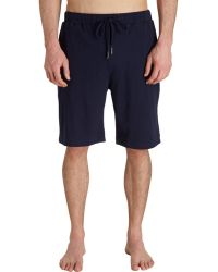American Essentials - Solid Pyjama Short - Lyst