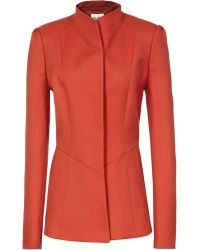 Reiss Avanti Pip Flared Single Breasted Coat - Lyst