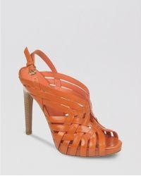 Via Spiga Platform Sandals Phoebe High Heel - Lyst