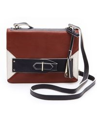 10 Crosby by Derek Lam Colorblock Folio Mini Bag - Lyst