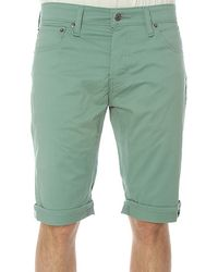 Levi's The Commuter 511 Shorts in Oil Blue - Lyst