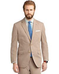 Brooks Brothers Madison Fit Poplin Suit - Lyst
