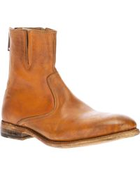 DSquared² - Distressed Ankle Boot - Lyst