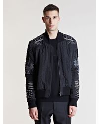James Long - Embroidered Bomber Jacket - Lyst