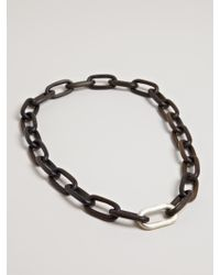 Parts Of 4 - Medium Seamless Wood Link Necklace - Lyst