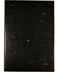 Paul Smith Leather Alphabet Notebook - Lyst