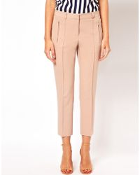 ASOS Collection Crop Trousers - Lyst